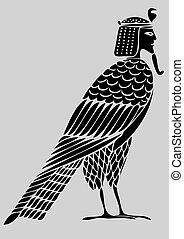 Ägypter Dämon - Vogel der Seelen