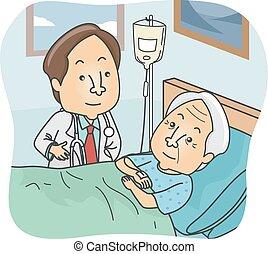 älter, patient