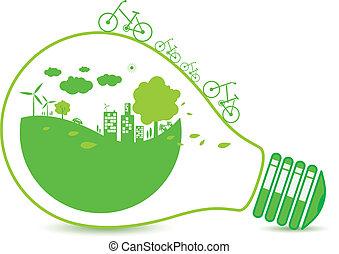 Ökologie-Konzepte.