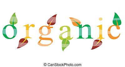 Ökologische organische Ikone