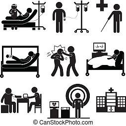 überprüfung, medizin, klinikum