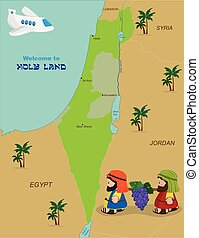 Testament altes landkarte israel Bibelatlas
