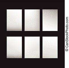 002 Abstract Hintergrund-Sammlung des Punktekreiselements zur Verbindungskonzept-Hintergrundvektor-Darstellung.