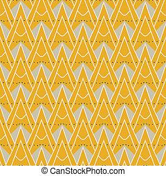 1930 moderne geometrische Muster mit Dreiecken
