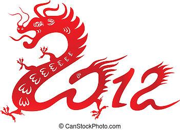 2012., feuerdrachen, tierkreis, chinesisches , jahr
