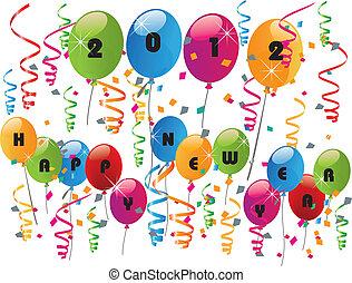 2012 glückliches neues Jahr.