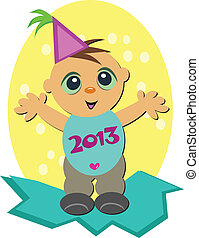 2013 Neujahrsbaby