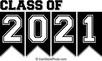 2021, klasse, banner