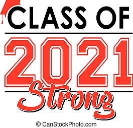 2021, rotes , klasse, starke , banner