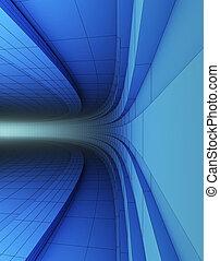 3d abstrakte Struktur