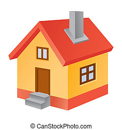 3d home icon.