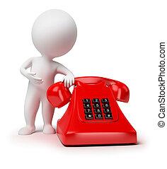 3d kleine Leute - Telefon