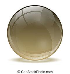 3D Kristallkugel