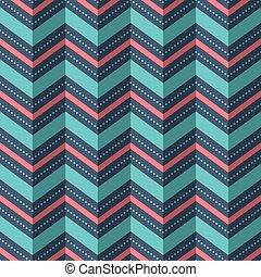 Abbildung eines nahtlosen geometrischen Musters.