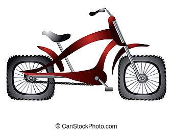 abnorm, fahrrad