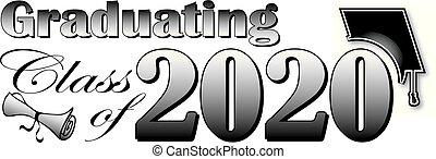 Abschlussklasse von 2020 Banner.