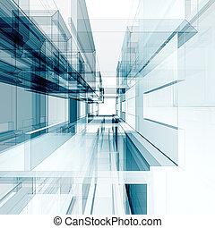 Abstract Architektur Hintergrund