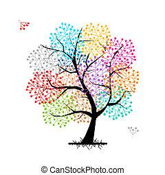 Abstract Baum für Ihr Design.