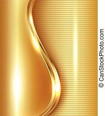 Abstract Gold Hintergrund.