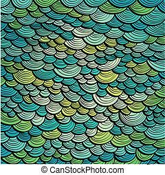Abstract Green Marine Hintergrund