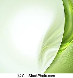Abstract Green winkt Hintergrund.