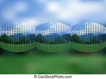 Abstract natürlichen Mosaik Hintergrund.