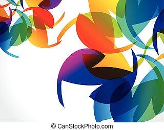 Abstract Regenbogen Hintergrund.