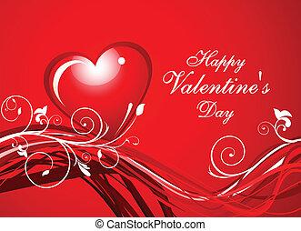 Abstract Valentine Hintergrund.