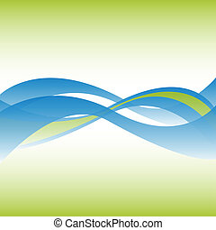 Abstrakt fließender Linienhintergrund.