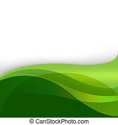 abstrakt, grüner hintergrund, natur