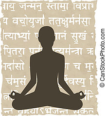 Abstrakt meditieren