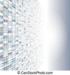 abstrakt, pixel, hintergrund