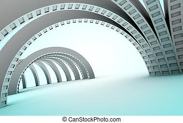 Abstrakte Architektur.