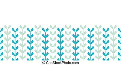 Abstrakte Reben hinterlassen einen horizontalen, nahtlosen Hintergrund.