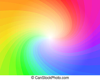 Abstrakte Regenbogenfarben