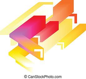 Abstrakter farbenfroher Hintergrund - 3