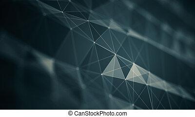 Abstraktion futuristischer Hintergrund für Design.