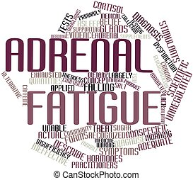 adrenal, ermüdung