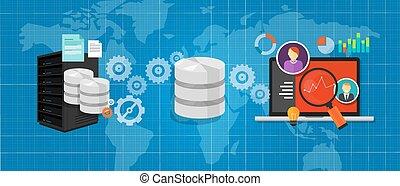 akten, datenbank, medien, tabelle, analyse, integration, verbinden, daten