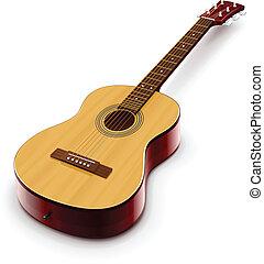 Akustikische klassische Gitarre