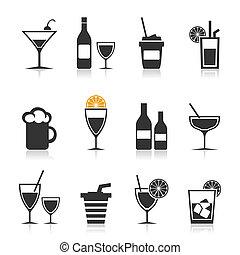 Alkohol eine Ikone