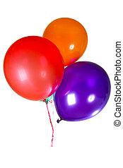 Alles Gute zum Geburtstagsballons, Dekoration farbenfroh