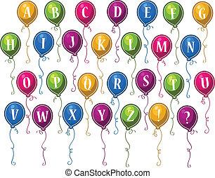Alphabet-Happy Birthday-Ballons