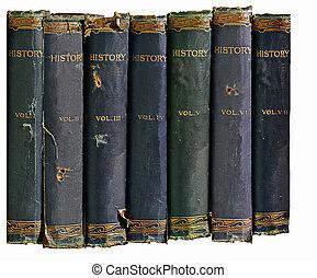 Alte Geschichtsbücher