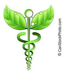 Alternatives Symbol für Medizin