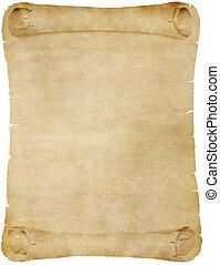 Altpapier oder Pergamentrolle
