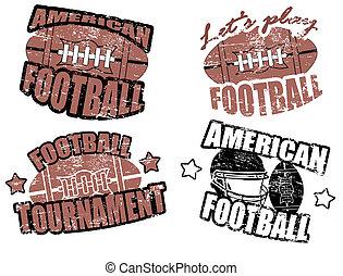 Amerikanische Fußballmarken