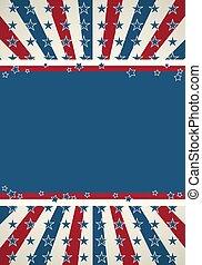 Amerikanisches Flag patriotisches Hintergrund