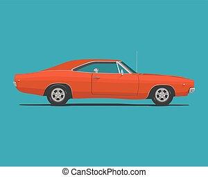 Amerikanisches klassisches Muskelauto