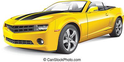 Amerikanisches Muskelauto Cabrio
